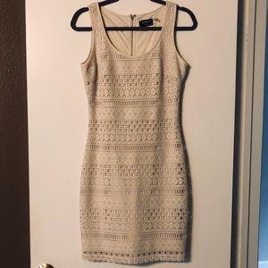 Tan tank shell dress